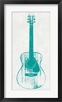 Guitar Collectior I Framed Print