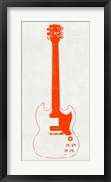 Guitar Collectior III Framed Print