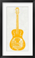 Guitar Collectior IV Framed Print