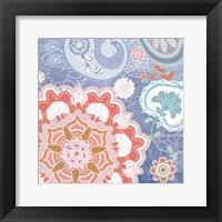 Paisley Faire IV Framed Print