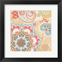 Paisley Faire V Framed Print