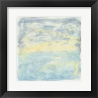 Framed Murmured Landscape I