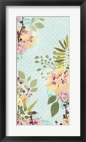 Sangria Garden I Framed Print