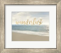 Framed Beach Wanderlust