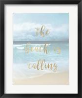 Framed Beach is Calling