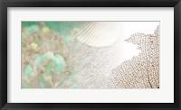Serene Photo Collage II Framed Print