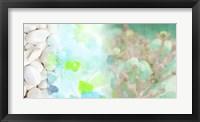 Serene Photo Collage IV Framed Print