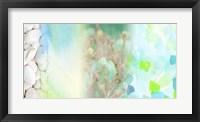 Serene Photo Collage V Framed Print