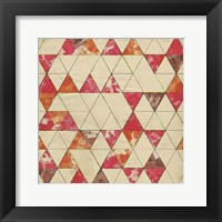 Geometric Color Shape IV Framed Print