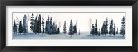 Sapphire Grove I Framed Print
