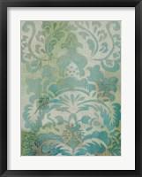 Velvet & Damask I Framed Print