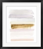 Pastel Sweep I Framed Print