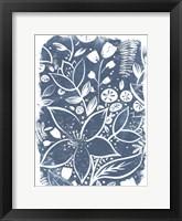 Framed Garden Batik II