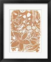 Framed Garden Batik VI