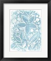 Framed Garden Batik VII