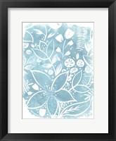 Framed Garden Batik VIII