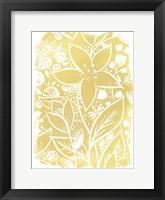 Framed Garden Batik IX