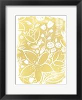 Framed Garden Batik X