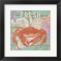 Framed Fresh Seafood I