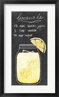 Summer Drinks II Framed Print