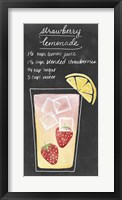 Summer Drinks III Framed Print