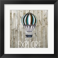 Young Explorer III Framed Print