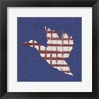 Lakeside Silhouette III Framed Print