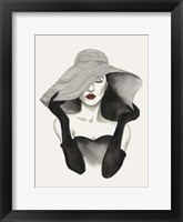 In Vogue I Framed Print