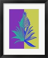 Pineapple Mix II Framed Print