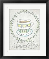 Breakfast Club I Framed Print