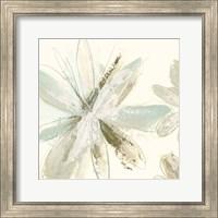 Framed Floral Impasto III