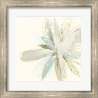 Framed Floral Impasto IV