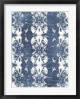 Batik Shell Patterns I Framed Print