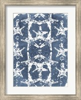 Framed Batik Shell Patterns II