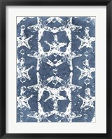Batik Shell Patterns II Framed Print