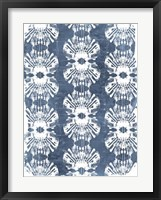 Batik Shell Patterns III Framed Print