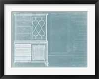 Chippendale Chest of Drawers Framed Print