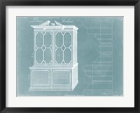 Framed Chippendale Library Bookcase I