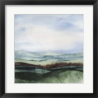 Jeweltone Ridges II Framed Print