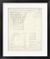 Greek & Roman Architecture I Framed Print