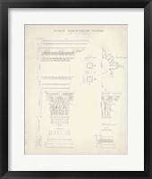 Greek & Roman Architecture II Framed Print