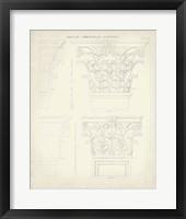 Greek & Roman Architecture III Framed Print