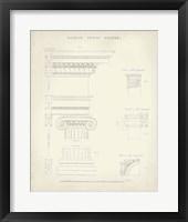 Greek & Roman Architecture V Framed Print