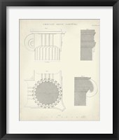 Greek & Roman Architecture VI Framed Print