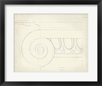 Framed Greek & Roman Architecture VII