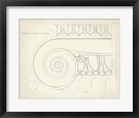 Framed Greek & Roman Architecture IX