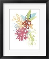 Flora Moderne II Framed Print