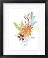 Flora Moderne IV Framed Print