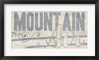Lake Life II Framed Print