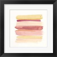Palette Stack V Framed Print